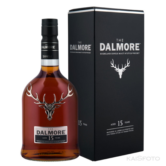 The Dalmore whiskey aged 15 years karbiga WEB